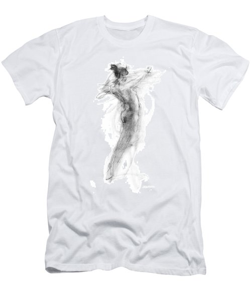 Girl In Movement Men's T-Shirt (Athletic Fit)