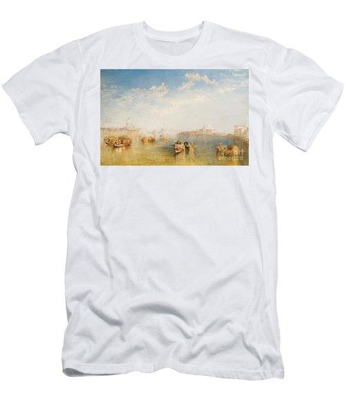 Giudecca La Donna Della Salute And San Giorgio  Men's T-Shirt (Athletic Fit)