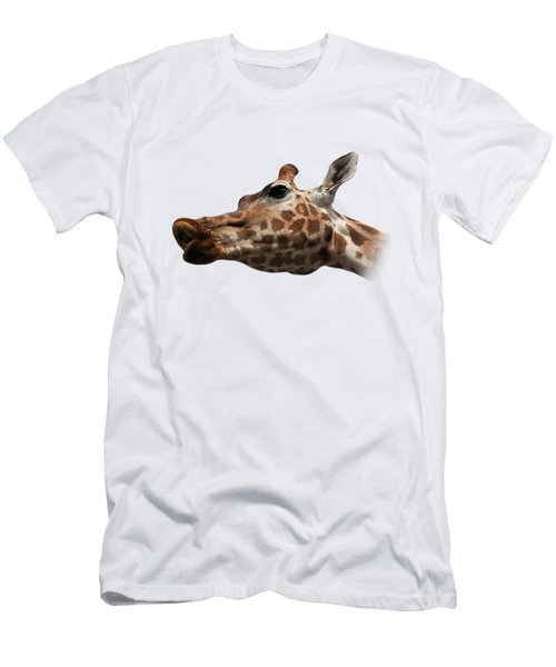 Give Us A Kiss On Transparent Background Men's T-Shirt (Slim Fit) by Terri Waters
