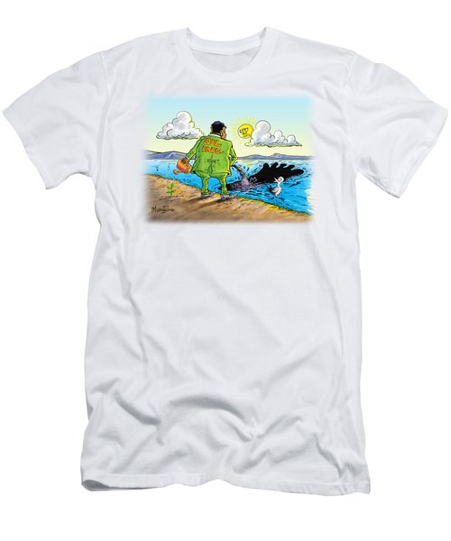 Giving Back To The Environment Men's T-Shirt (Athletic Fit)