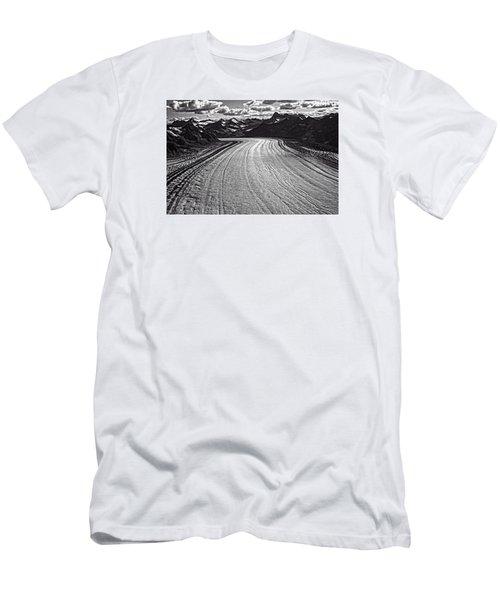 Glacier Field Alaska Men's T-Shirt (Athletic Fit)