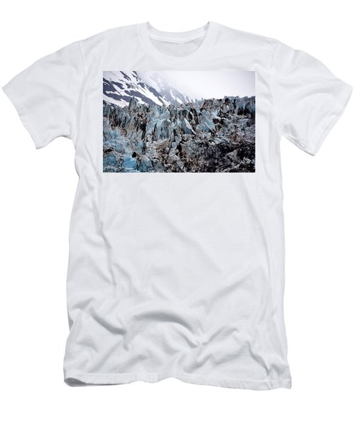 Glaciers Closeup - Alaska Men's T-Shirt (Athletic Fit)