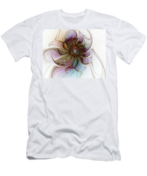Glass Petals Men's T-Shirt (Athletic Fit)