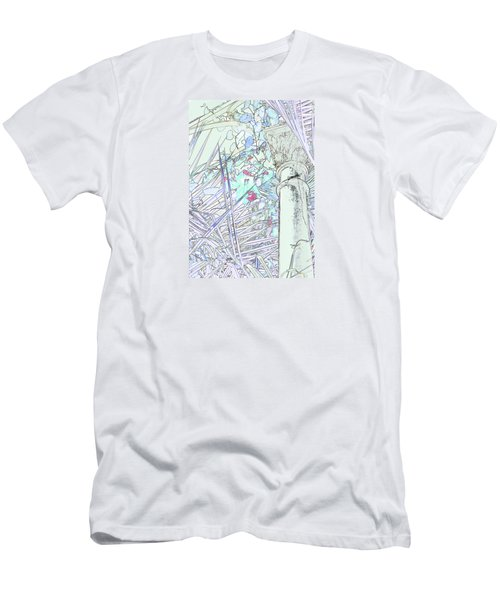 Men's T-Shirt (Athletic Fit) featuring the photograph Glasshouse Jungle by Nareeta Martin