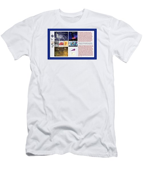 Glimpsing Divinity Men's T-Shirt (Slim Fit) by Peter Hedding
