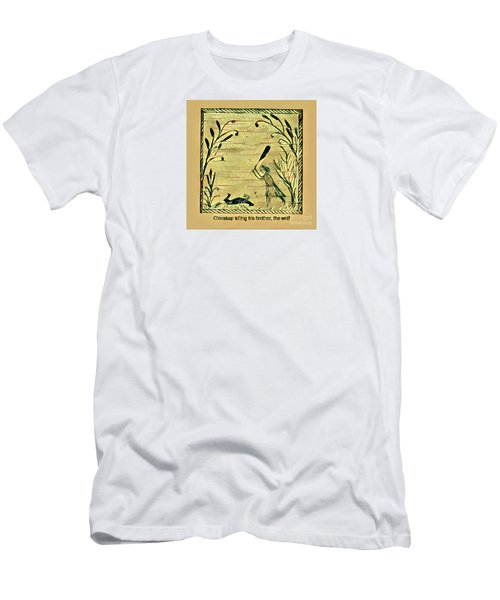 Glooscap Kills The Wolf Men's T-Shirt (Athletic Fit)