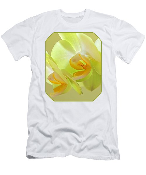 Glowing Orchid - Lemon And Lime Men's T-Shirt (Slim Fit) by Gill Billington