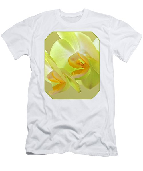 Glowing Orchid - Lemon And Lime Men's T-Shirt (Athletic Fit)