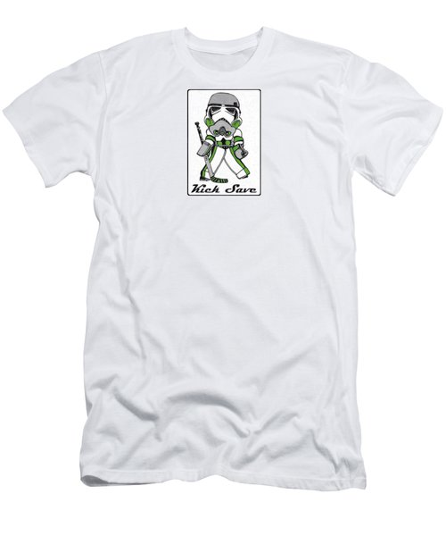 9d0ddd459 Goalie Green Men s T-Shirt (Athletic Fit)