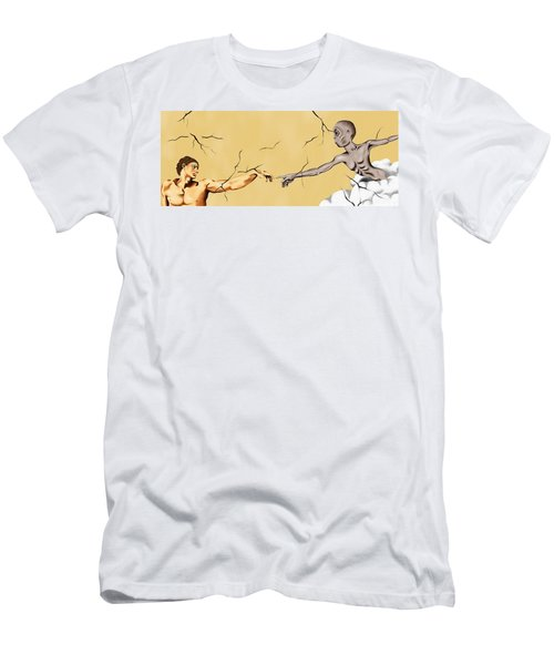 God And Man Men's T-Shirt (Athletic Fit)