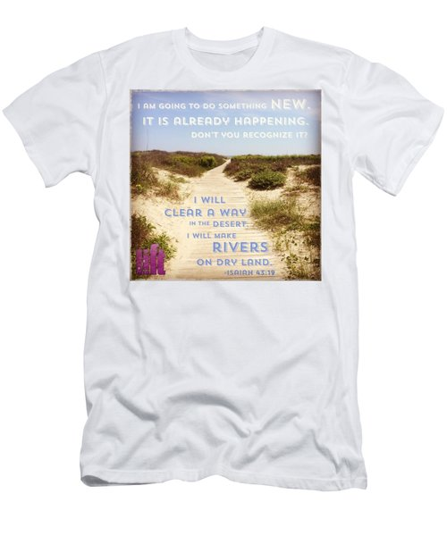 God Is Able To Make A Way Where There Men's T-Shirt (Athletic Fit)