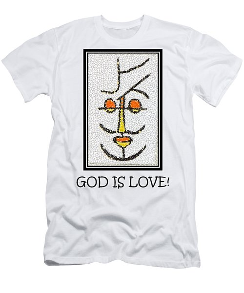 God Is Love Men's T-Shirt (Athletic Fit)