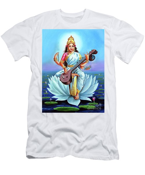 Goddess Of Wisdom And Knowledge Men's T-Shirt (Athletic Fit)