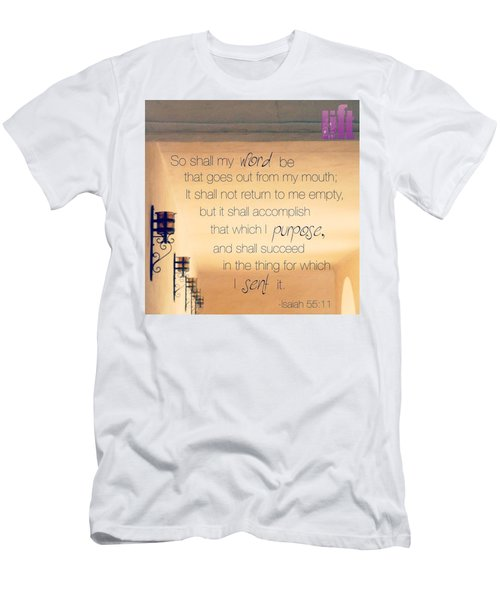 God's Word Has #creative #power Men's T-Shirt (Athletic Fit)