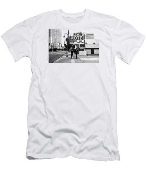Men's T-Shirt (Slim Fit) featuring the photograph Going For Breakfast by Vinnie Oakes