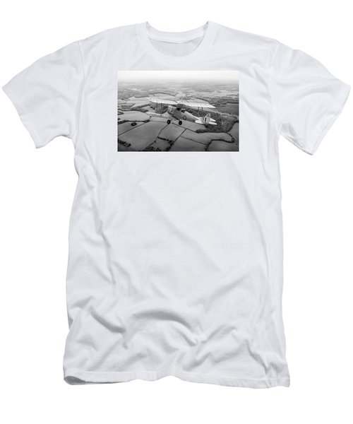 Men's T-Shirt (Slim Fit) featuring the photograph Going Solo by Gary Eason