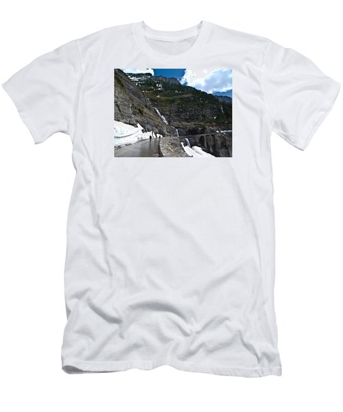 Going To The Sun Bike Ride Men's T-Shirt (Athletic Fit)