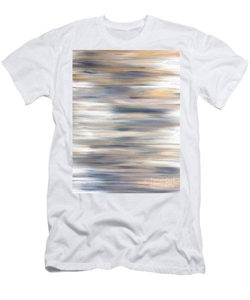 Gold Coast #21 Landscape Original Fine Art Acrylic On Canvas Men's T-Shirt (Athletic Fit)