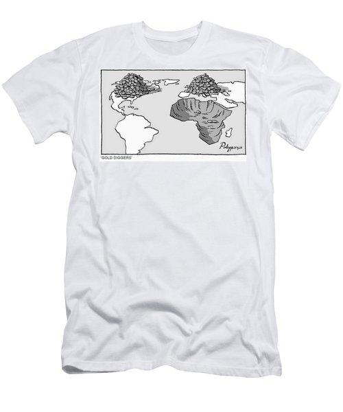 Gold Diggers Men's T-Shirt (Athletic Fit)