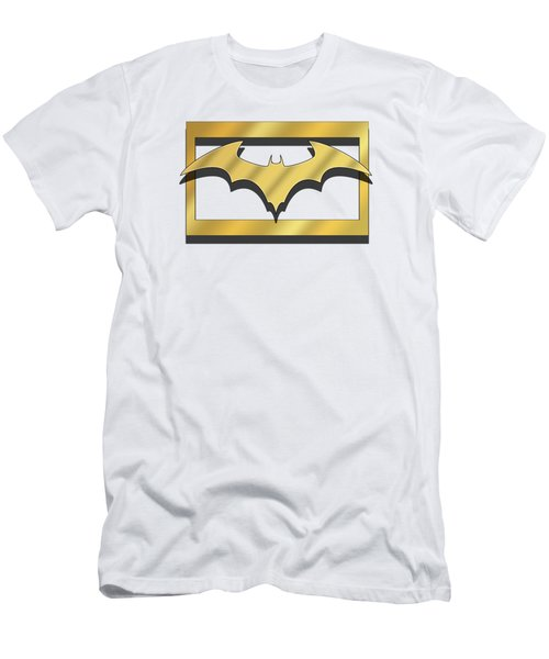 Golden Bat Men's T-Shirt (Athletic Fit)