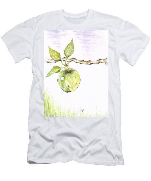 Golden Delishous Apple Men's T-Shirt (Athletic Fit)