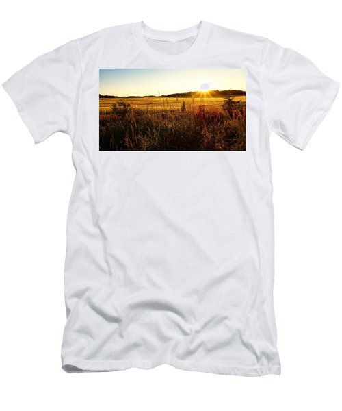 Golden Fields Men's T-Shirt (Athletic Fit)