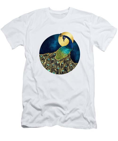 Golden Peacock Men's T-Shirt (Athletic Fit)
