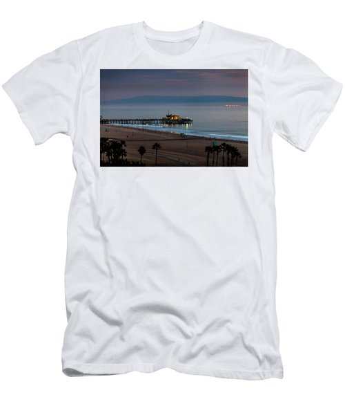 Golden Pier Men's T-Shirt (Athletic Fit)