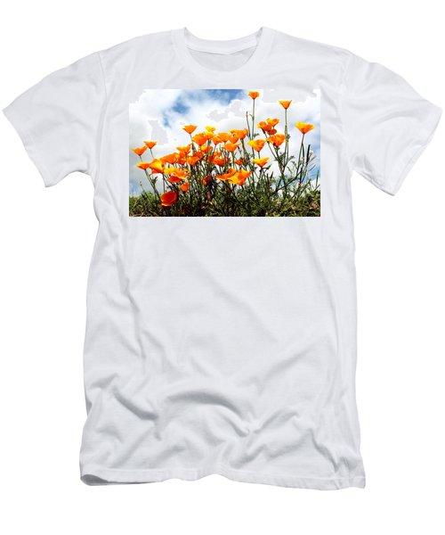 Golden Poppies Men's T-Shirt (Athletic Fit)