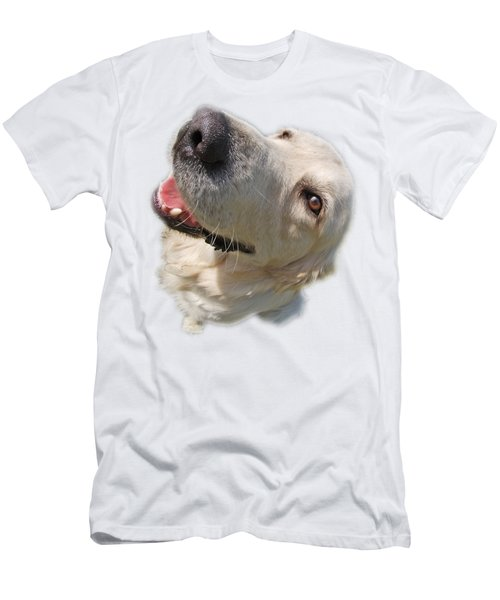 Golden Retriever Men's T-Shirt (Athletic Fit)