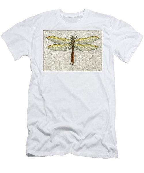 Golden Winged Skimmer Men's T-Shirt (Athletic Fit)