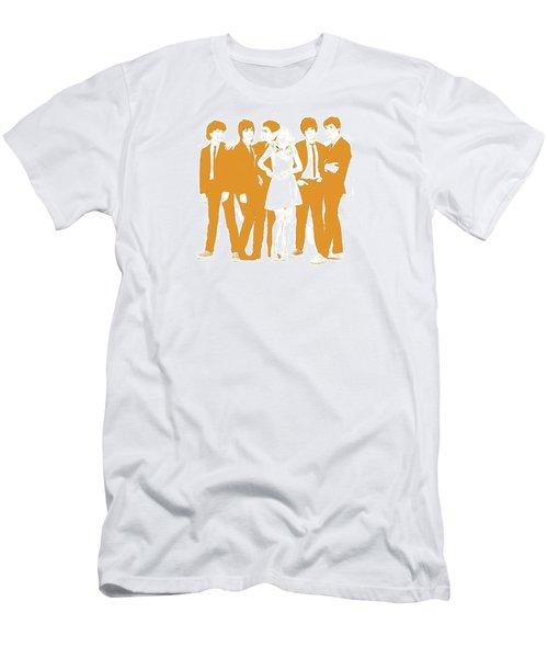 Goldie Men's T-Shirt (Slim Fit) by Kurt Ramschissel