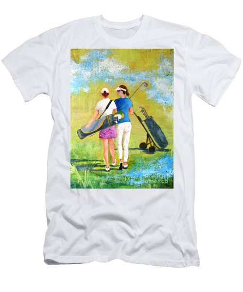 Golf Buddies #1 Men's T-Shirt (Athletic Fit)