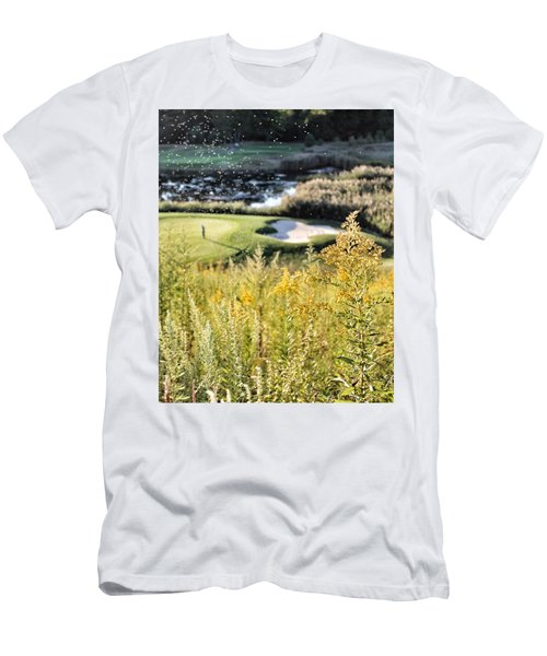 Golf - Green Peace Men's T-Shirt (Athletic Fit)