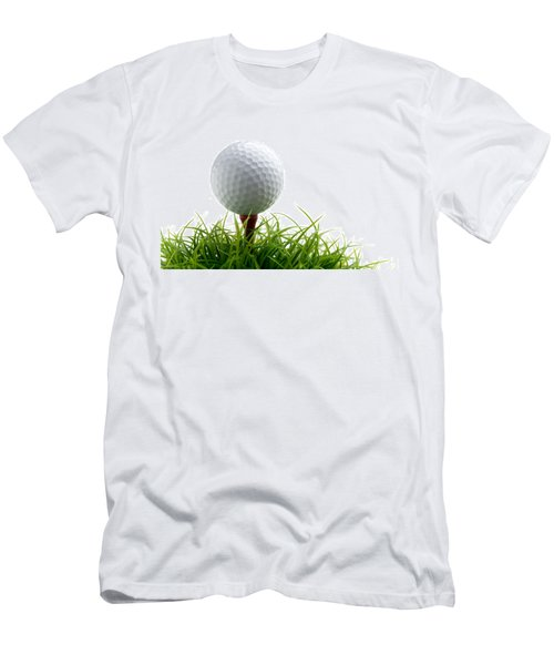 Golfball Men's T-Shirt (Athletic Fit)