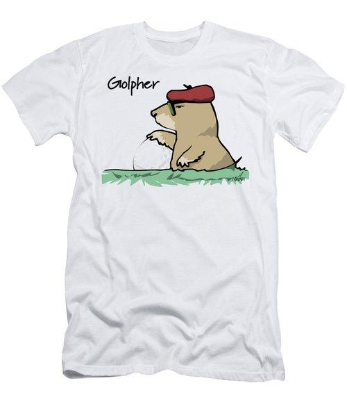 Golpher Men's T-Shirt (Athletic Fit)