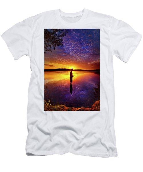 Gone Fishing Men's T-Shirt (Athletic Fit)