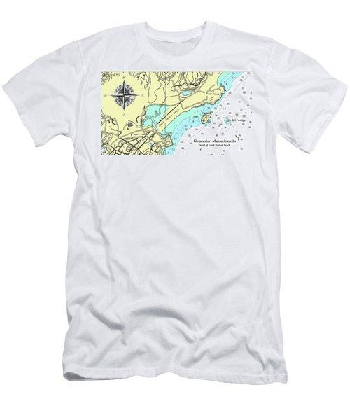 Good Harbor Beach Men's T-Shirt (Athletic Fit)