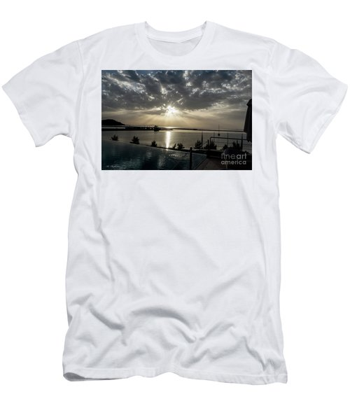 Good Morning Vacation Men's T-Shirt (Athletic Fit)