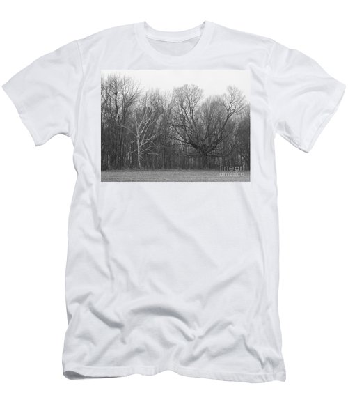 Good Vs Evil Trees Men's T-Shirt (Slim Fit) by Erick Schmidt