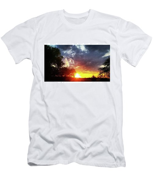 Instagram Photo Men's T-Shirt (Athletic Fit)
