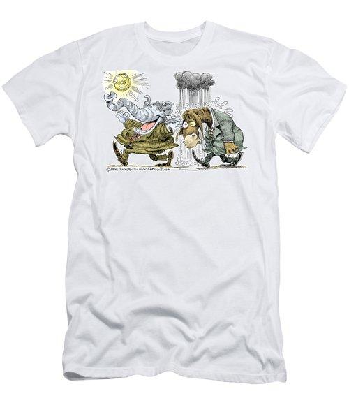 Gop Glee And Dem Doom Men's T-Shirt (Athletic Fit)