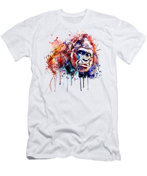 Gorilla Men's T-Shirt (Slim Fit) by Marian Voicu