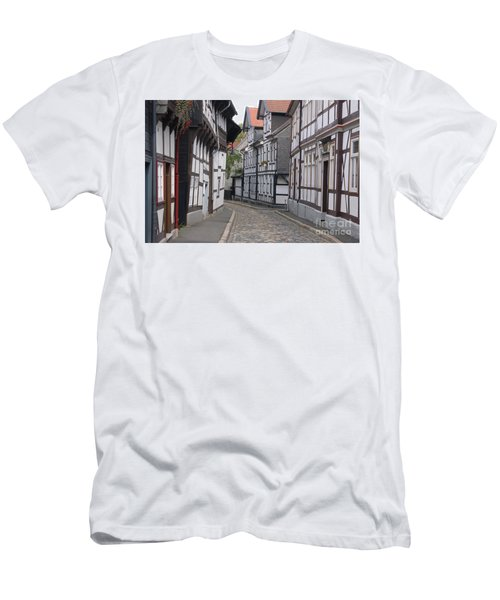 Goslar Old Town 3 Men's T-Shirt (Slim Fit) by Rudi Prott