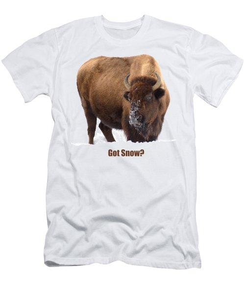 Got Snow? Men's T-Shirt (Athletic Fit)