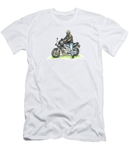 Got To Ride Men's T-Shirt (Slim Fit) by Shari Nees