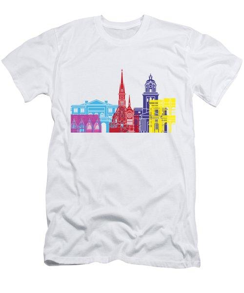Gothenburg Skyline Pop Men's T-Shirt (Athletic Fit)