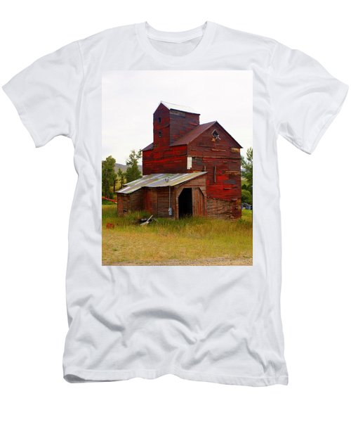 Grain Elevator Men's T-Shirt (Athletic Fit)