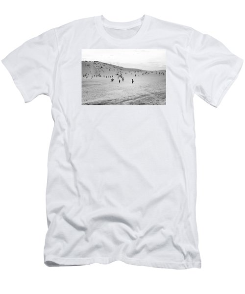 Grains Of Sand Men's T-Shirt (Slim Fit) by Hayato Matsumoto