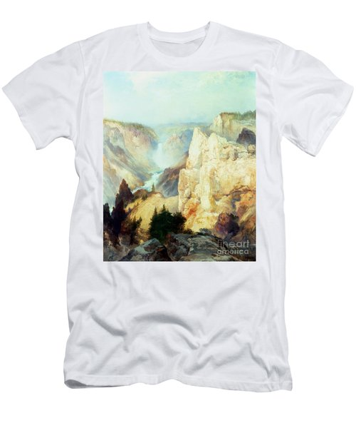 Grand Canyon Of The Yellowstone Park Men's T-Shirt (Athletic Fit)